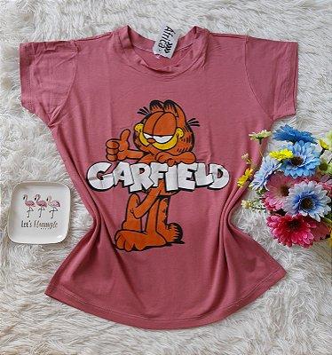 T-Shirt Feminina Para Revenda Garfield