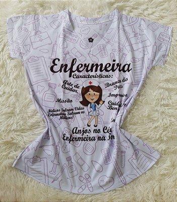 T-Shirt Profissão No Atacado Enfermeira