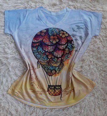 T-Shirt No Atacado Balão Colorido