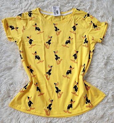 T-shirt  feminino no atacado  patolino amarelo