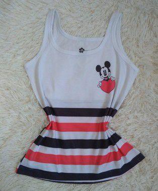 Regata Feminina Para Revenda Mickey