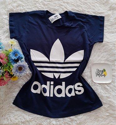 Camiseta No Atacado Adidas Marinho