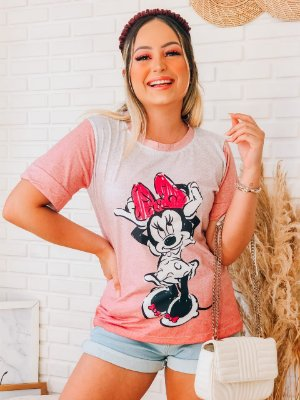 T-Shirt No Atacado Minnie