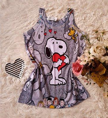 Regata No Atacado Snoopy Coração