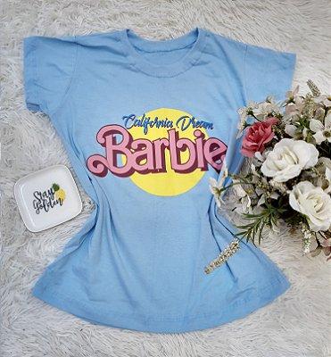 Camisa  No Atacado Barbie Azul