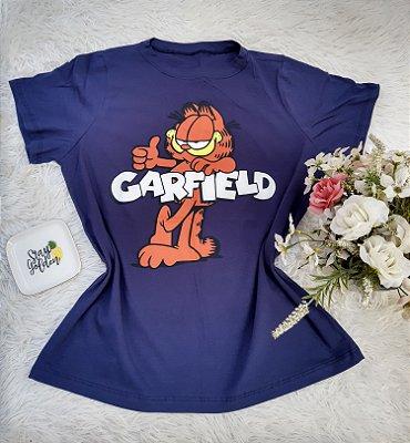 Camisa  No Atacado Garfield Marinho