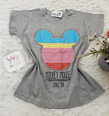 Camiseta No Atacado Mickey Rosto