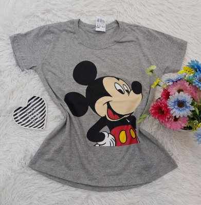 Camiseta No Atacado Mickey