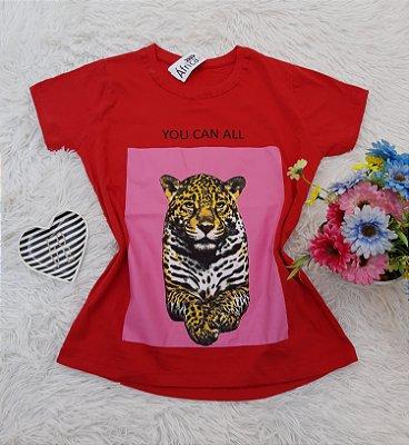 Camiseta No Atacado Tigre