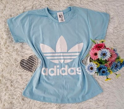 Camiseta No Atacado Adidas Azul