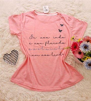 Camiseta No Atacado Voo Lindo Rosa