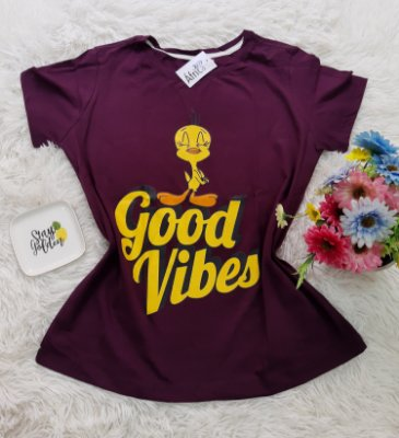 Camiseta No Atacado Good Vibes PiuPiu