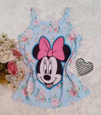 Regata No Atacado Minnie Floral