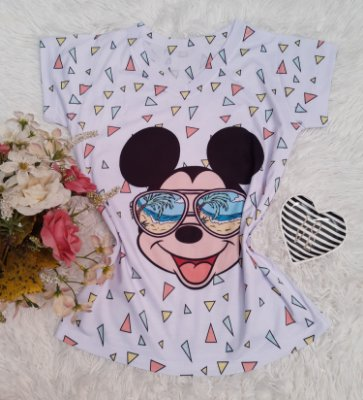 T-Shirt No Atacado Mickey Triangulos