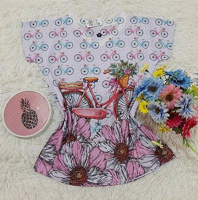 T-Shirt No Atacado Bike Rosa