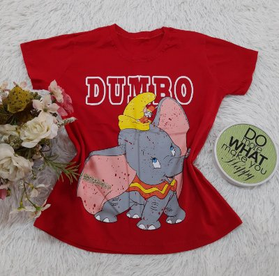 Camiseta No Atacado Dumbo Circo
