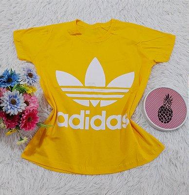 Camiseta No Atacado Adidas Amarelo
