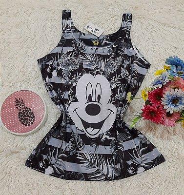 Regata No Atacado Mickey Floral