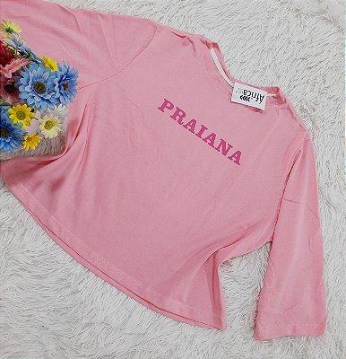 Camiseta No Atacado Praianas Rosa