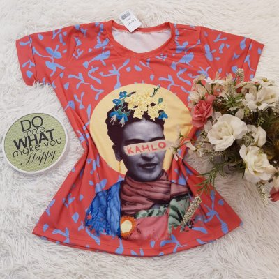 T-Shirt No Atacado Frida