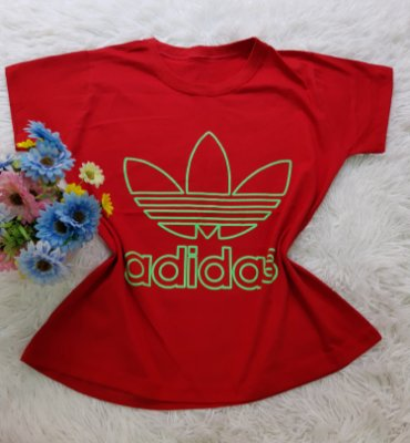 Camiseta No Atacado Adidas Original Vermelho
