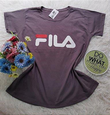 Camiseta No Atacado Fila Cinza
