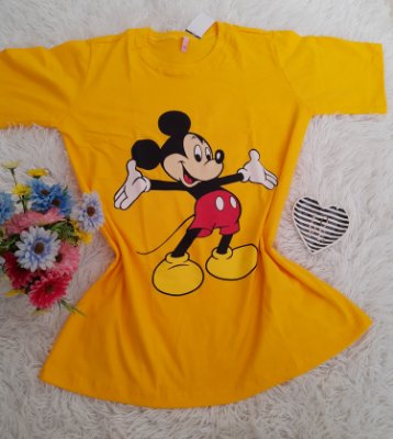 Blusão No Atacado Mickey Grande Amarelo