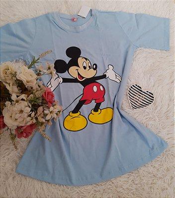 Blusão No Atacado Mickey Grande Azul
