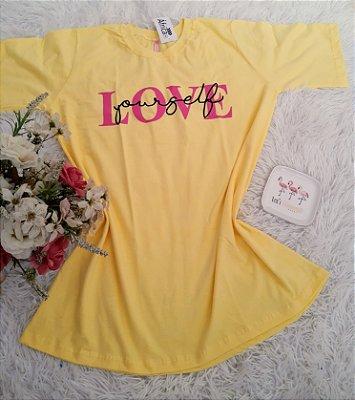 Blusão No Atacado Love Self Amarelo