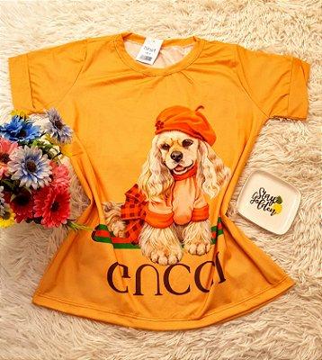 T-Shirt No Atacado Dog Gucci