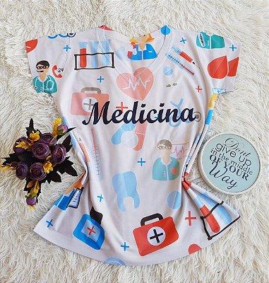 T shirt Feminina Profissão no Atacado Medicina