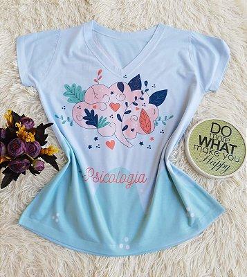 T-shirt Feminina Psicologia