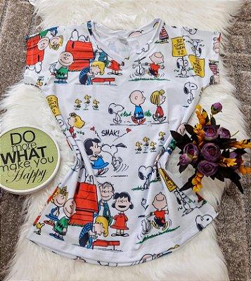 Camiseta Feminina Personagem No Atacado Charlie Brown