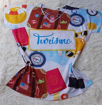 T shirt Feminina Profissão no Atacado Turismo