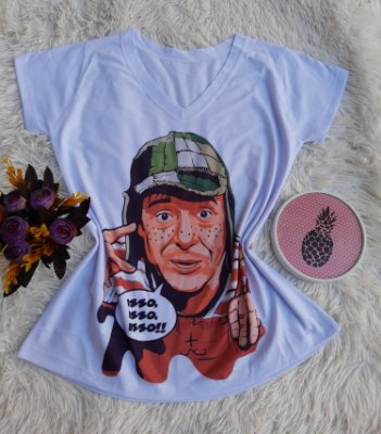 T shirt Feminina Básica no Atacado Chaves