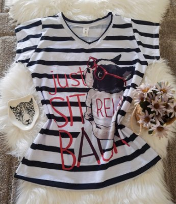 Blusa Feminina Estampa Animal no Atacado Dog