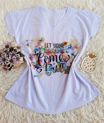 T shirt Feminina Básica no Atacado Dreams