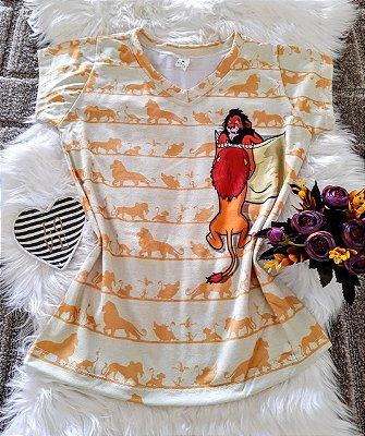 Camiseta Feminina No Atacado Personagens Rei Leão