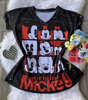 Camiseta Feminina Personagem No Atacado Mickey Original