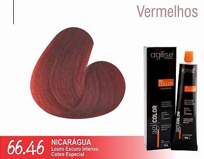 COLORAÇÃO 66.46 | LOURO ESCURO INTENSO COBRE ESPECIAL | NICARÁGUA - 60GR