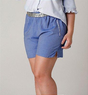 Shorts Giulen com elástico - SHV1703