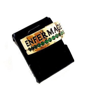 Anel de Formatura com 8mm de Moeda
