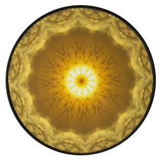 Mini Mandala Fotográfica- Ímã 8cm