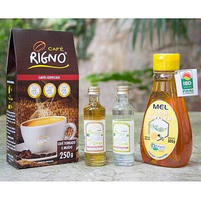 Kit Premiado Mel+Café+Cachaça