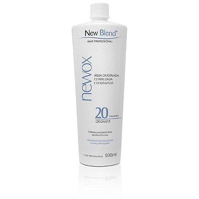 Água Oxigenada NewOx 20 volumes - estabilizada e deionizada 900ml