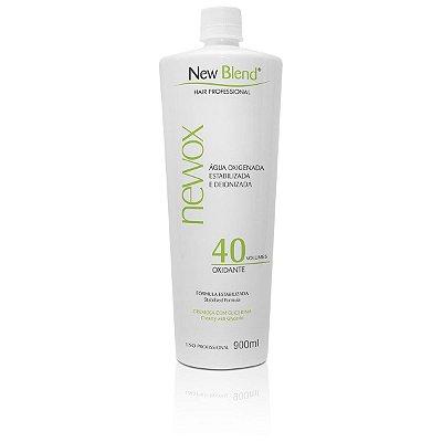 Água Oxigenada NewOx 40 volumes - estabilizada e deionizada 900ml