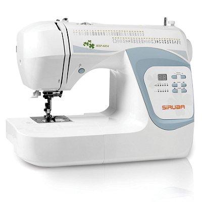 Máquina de Costura Doméstica Siruba HSP6854 Zigue-Zague Eletrônica