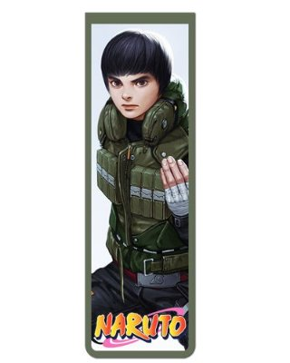 Marcador De Página Magnético Rock Lee - Naruto - MNI29