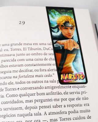Marcador De Página Magnético Naruto - MNI108