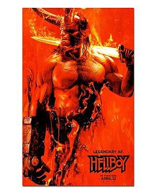 Ímã Decorativo Pôster Hellboy - IPF577